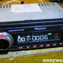 Ремонт магнитолы PIONEER JD-341 (нет звука)