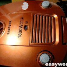 Ремонт пылесоса Samsung SC-4181 (гудит, ревет)