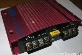 Ремонт усилителя KOAG V1 200 Вт (пропадает звук)